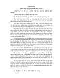 Tài liệu bồ dưỡng ngạnh chuyên viên và tương đương - Chuyên đề 5: Thủ tục hành chính nhà nước