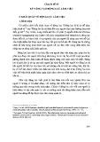 Tài liệu bồi dưỡng ngạch chuyên viên cao cấp - Chuyên đề 18: Kỹ năng tạo động lực làm việc