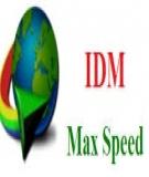 Cách tăng tốc độ Download IDM Internet Download Manager