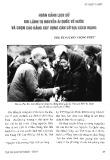 Hoàn cảnh lịch sử khi lãnh tụ Nguyễn Ái Quốc về nước và chọn Cao Bằng xây dựng căn cứ địa cách mạng