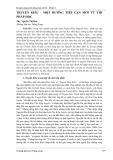 Truyện Kiều - Một hướng tiếp cận mới từ thi pháp học