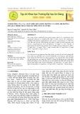 Ảnh hưởng của các chất điều hòa sinh trưởng và nồng độ đường lên quá trình nhân nhanh chồi gừng in vitro