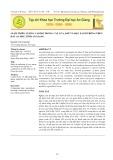 Giảm thiểu lượng cadimi trong cây lúa, bắp và đậu xanh trồng trên đất An Phú, tỉnh An Giang