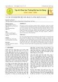 Các yếu tố ảnh hưởng đến thu nhập của nông hộ ở An Giang