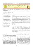 Xúc tác quang phân hủy Orange 52 sử dụng TiO2 và một số yếu tố ảnh hưởng