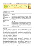 Xác định thành phần hóa học tinh dầu vỏ quả chanh ở Đồng Tháp