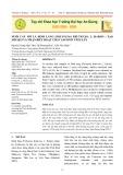 Nuôi cấy mô lá đinh lăng (polyscias fruticosa l. harms ) tạo mô sẹo và nhận biết hoạt chất saponin tích lũy