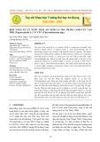 Khả năng xử lý nước thải ao nuôi cá tra thâm canh của Vạn Thọ (Tagetes patula L.) và cúc (Chrysanthemum spp.)