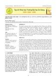 Thành phần hóa học của tinh dầu từ lá cây Na (Annona Squamosa L.) ở Đồng Tháp