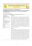 Ảnh hưởng của nồng độ và thời điểm xử lý Aminoethoxyvinylglycine (AVG) ở giai đoạn cận thu hoạch đến chất lượng, thời gian bảo quản của dưa lưới (Cucumis melo L.) sau thu hoạch