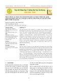 Phân tích các nhân tố ảnh hưởng đến sự phát triển du lịch sinh thái khu bảo vệ cảnh quan rừng tràm Trà Sư, huyện Tịnh Biên, tỉnh An Giang