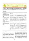 Xu hướng chọn nghề nghiệp của học sinh cuối cấp trung học cơ sở và học sinh trung học phổ thông huyện Châu Thành tỉnh An Giang hiện nay