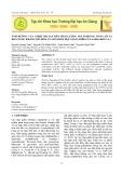 Ảnh hưởng của nhiệt độ sấy đến hàm lượng Polyphenol tổng số và khả năng kháng oxi hóa của đài hoa bụp giấm (Hibiscus Sabdariffa L.)