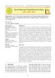 Ảnh hưởng của 5 công thức phân bón và kỹ thuật nhân giống bằng chồi củ và nuôi cấy mô lên năng suất và hàm lượng curcumin của cây nghệ Xà Cừ