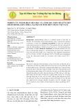 Nghiên cứu thành phần hóa học của tinh dầu thân rễ gừng đen (distichochlamys citrea) tại một số tỉnh miền trung Việt Nam