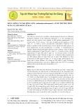 Nhân giống cây đại hồng môn (Anthurium andreanum L.) bằng phương pháp nuôi cấy lớp mỏng tế bào
