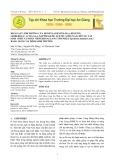 Khảo sát ảnh hưởng của benzyladenine (BA), kinetin, gibberelic acid (GA3), napthalene acetic acid (NÂ) đến sự tái sinh chồi và nhân chồi khoai lang tím nhật (Ipomoea batatas Lam.) bằng nuôi cấy đỉnh sinh trưởng