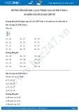 Giải bài tập So sánh các số có hai chữ số SGK Toán 1