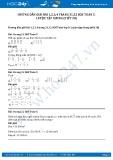 Giải bài luyện tập chung tiết 30 SGK Toán 5