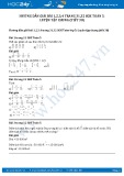 Hướng dẫn giải bài 1,2 trang 31 SGK Toán 5
