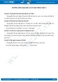 Giải bài tập bài Lá cờ SGK Tiếng Việt 2