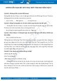 Giải bài tập bài Sơn Tinh, Thủy Tinh SGK Tiếng Việt 2