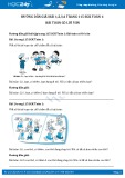 Giải bài tập Bài toán có lời văn SGK Toán 1