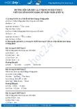 Giải bài viết các số đo độ dài dưới dạng số thập phân SGK Toán 5
