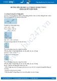 Hướng dẫn giải bài 1,2,3 trang 50 SGK Toán 5