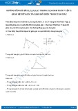 Hướng dẫn giải bài 3,4,5,6,7 trang 56 SGK Hình học 7 tập 2