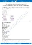 Hướng dẫn giải bài tập 1,2,3,4 trang 72 SGK Toán 5