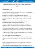 Giải bài tập 1,2,3,4,5,6,7,8,9,10 trang 203 SGK Vật lý 11