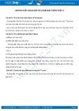 Giải bài tập bài Vè chim SGK Tiếng Việt 2