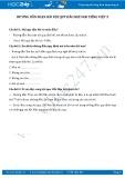 Giải bài tập bài Nội quy đảo khỉ SGK Tiếng Việt 2