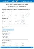 Giải bài tập Luyện tập phép trừ trong phạm vi 3 SGK Toán 1