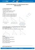 Giải bài hình tam giác SGK Toán 5