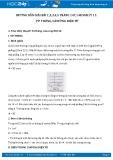 Hướng dẫn giải bài 5 trang 148 SGK Vật lý 11