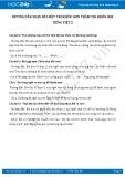 Giải bài tập bài Một trí khôn hơn trăm trí khôn SGK Tiếng Việt 2