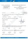 Đề thi thử THPT Quốc gia năm 2017 môn Toán lần 1 - Trường THPT Lý Thái Tổ (Mã đề 432) (có đáp án)