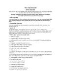 Tiêu chuẩn ngành 28 TCN 158:2000