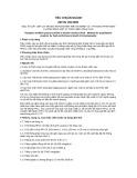 Tiêu chuẩn ngành 28 TCN 159:2000