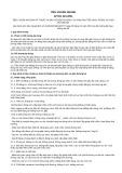 Tiêu chuẩn ngành 22 TCN 224:2001