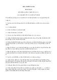 Tiêu chuẩn ngành 58 TCN 24:1974