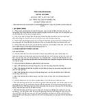 Tiêu chuẩn ngành 22 TCN 253:1998