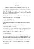 Tiêu chuẩn ngành 58 TCN 20:1974