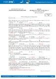 Đề thi thử THPT Quốc gia năm 2017 môn Hóa - Trường THPT Nguyễn Đăng Đạo (có đáp án)