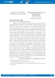 Đề thi thử THPT Quốc gia năm 2017 môn Ngữ văn lần 1 - Trường THPT Trần Hưng Đạo (có đáp án)