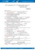 Đề thi thử THPT Quốc gia năm 2017 môn Vật lý - Trường THPT Hoàng Hoa Thám (có đáp án)