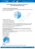 Giải bài tập Giới thiệu biểu đồ hình quạt SGK Toán 5