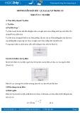 Giải bài tập 1,2,3,4,5,6,7,8 trang 33 SGK Vật lý 11